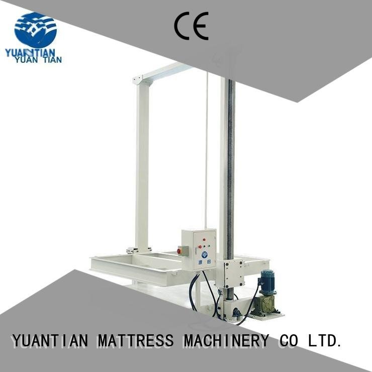 YUANTIAN Mattress Machines Brand straightening unpressing mattress packing machine pneumatic border