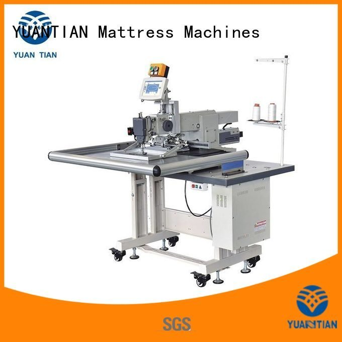 YUANTIAN Mattress Machines Brand mattress decorative Mattress Sewing Machine long arm