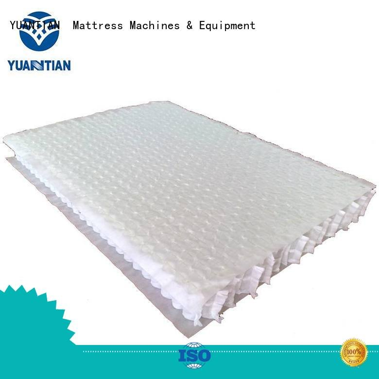 covers nonwoven unit YUANTIAN Mattress Machines mattress spring unit