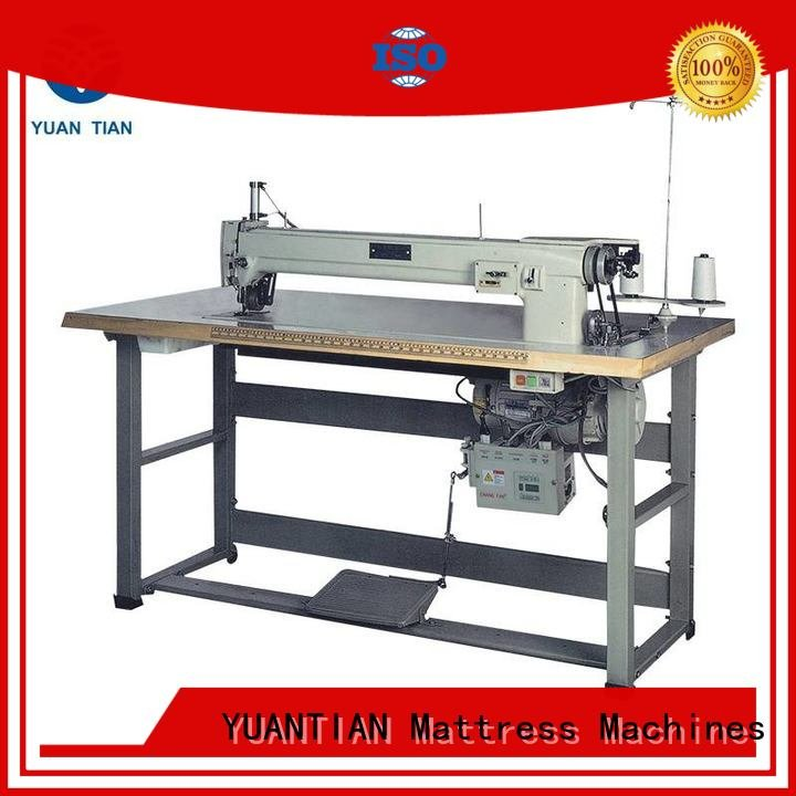 Custom longarm Mattress Sewing Machine label singer  mattress  sewing machine price