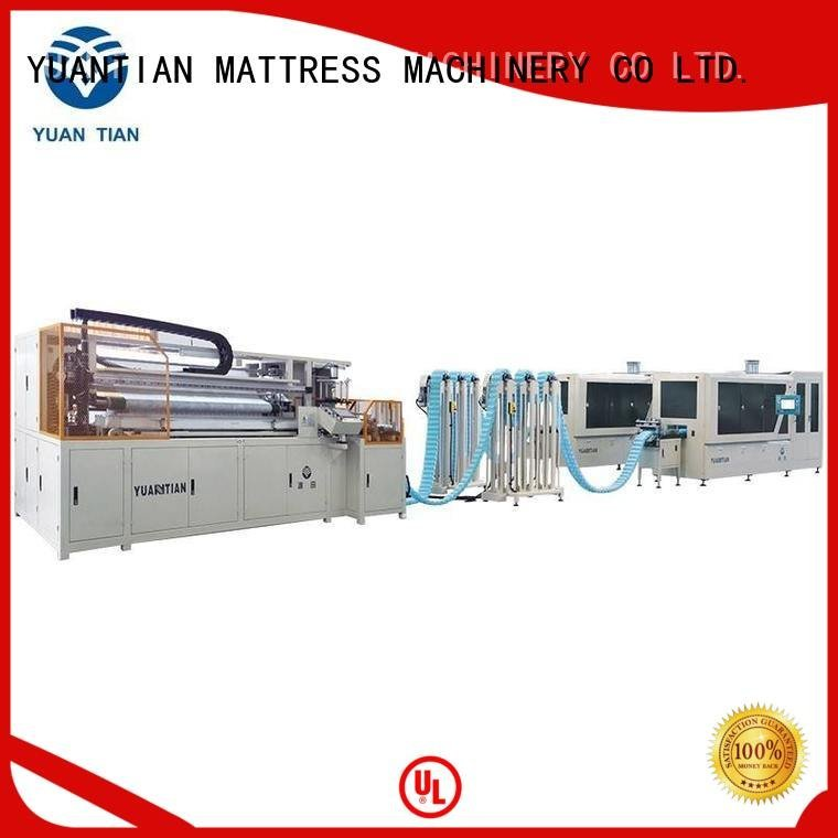 Automatic Pocket Spring Machine machine Automatic High Speed Pocket Spring Machine dt012 YUANTIAN Mattress Machines