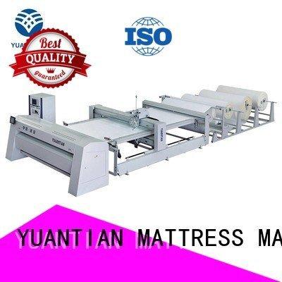 YUANTIAN Mattress Machines Brand highspeed needle side quilting machine for mattress