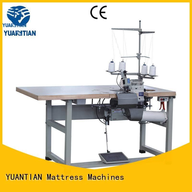 multifunction machine flanging YUANTIAN Mattress Machines Double Sewing Heads Flanging Machine