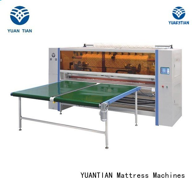 cutting Mattress Cutting Machine YUANTIAN Mattress Machines Mattress Cutting Machine Supplier