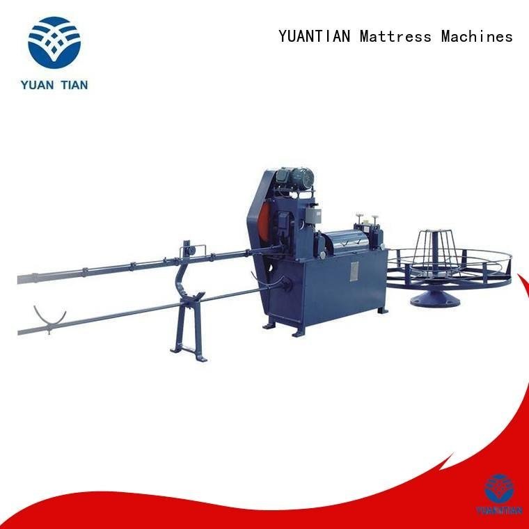 foam mattress making machine straightening bending unit wire