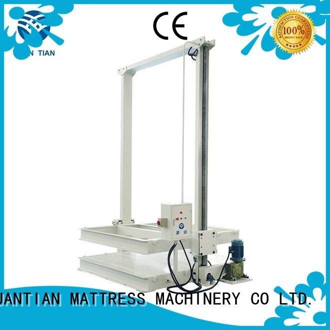 OEM mattress packing machine wire pneumatic foam mattress making machine