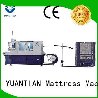 dtdx012 machine speed high YUANTIAN Mattress Machines Automatic High Speed Pocket Spring Machine