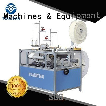 Double Sewing Heads Flanging Machine sewing Mattress Flanging Machine double YUANTIAN Mattress Machines