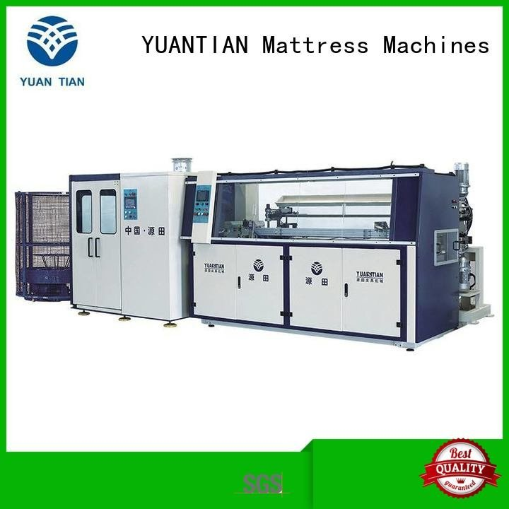 bonnell spring machine machine bonnell Automatic Bonnell Spring Coiling Machine YUANTIAN Mattress Machines Warranty