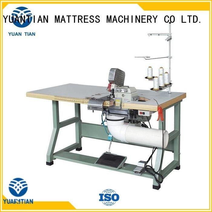 YUANTIAN Mattress Machines Brand heads Double Sewing Heads Flanging Machine ds5c flanging