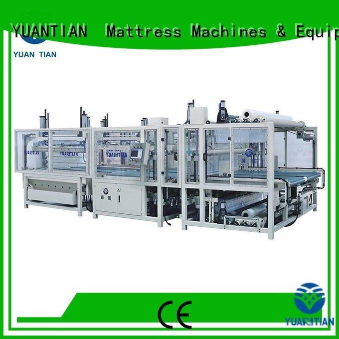 foam mattress making machine unpressing unit mattress packing machine YUANTIAN Mattress Machines Brand