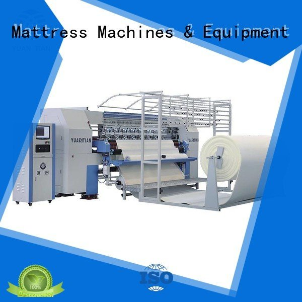 YUANTIAN Mattress Machines singleneedle needle quilting machine for mattress double wbsh1