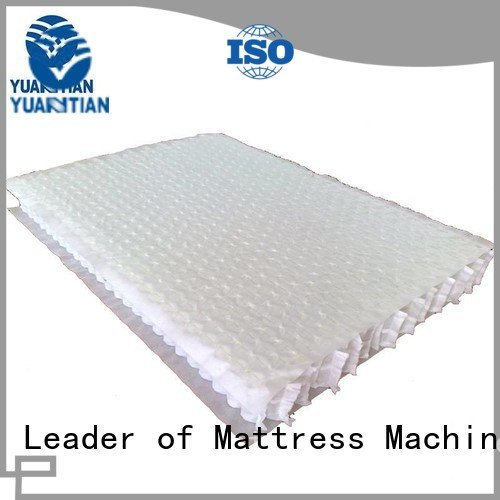YUANTIAN Mattress Machines Brand unit spring covers mattress spring unit