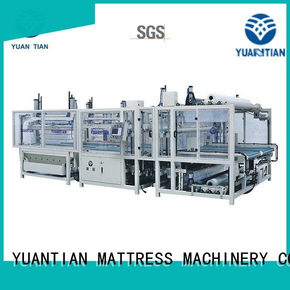wire qw4 straightening mattress packing machine YUANTIAN Mattress Machines