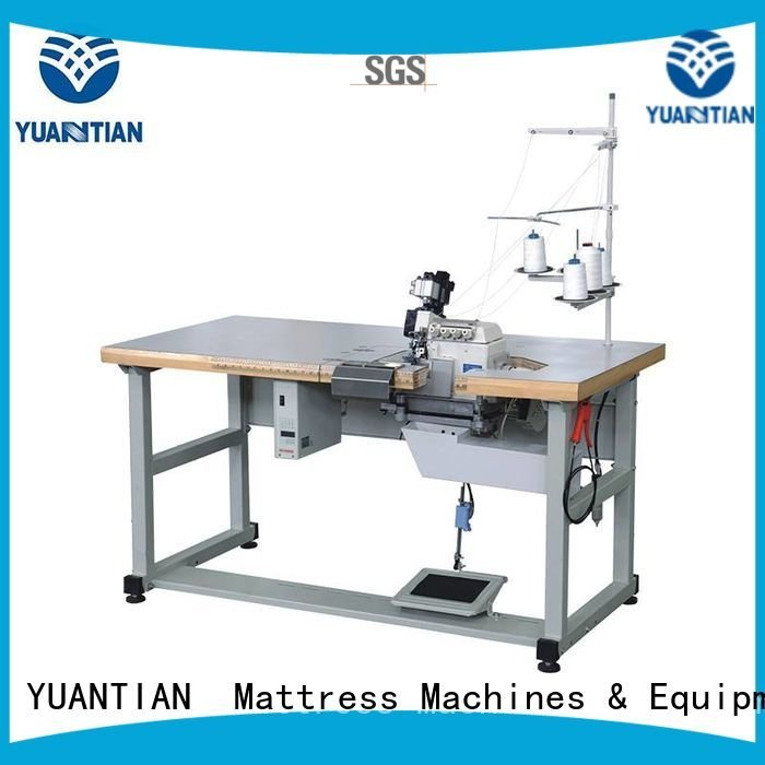 ds7a Mattress Flanging Machine YUANTIAN Mattress Machines Double Sewing Heads Flanging Machine