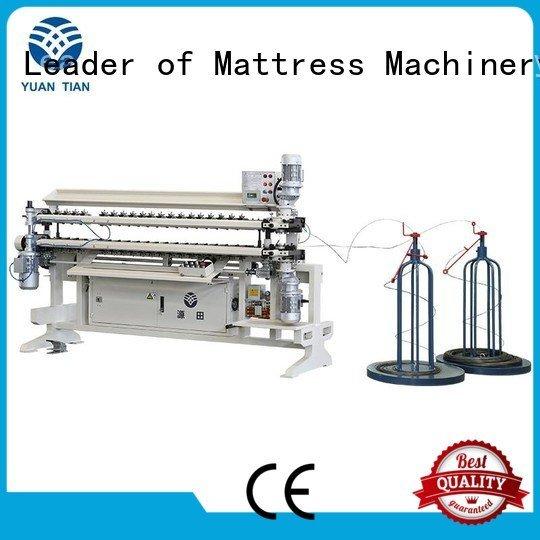 semiauto machine spring bonnell spring unit machine YUANTIAN Mattress Machines