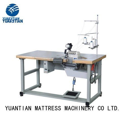 Double Sewing Heads Flanging Machine dss1250 heads Mattress Flanging Machine YUANTIAN Mattress Machines Warranty