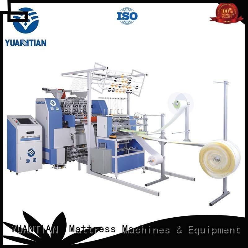 YUANTIAN Mattress Machines lockstitch four quilting machine for mattress dzhf2h side