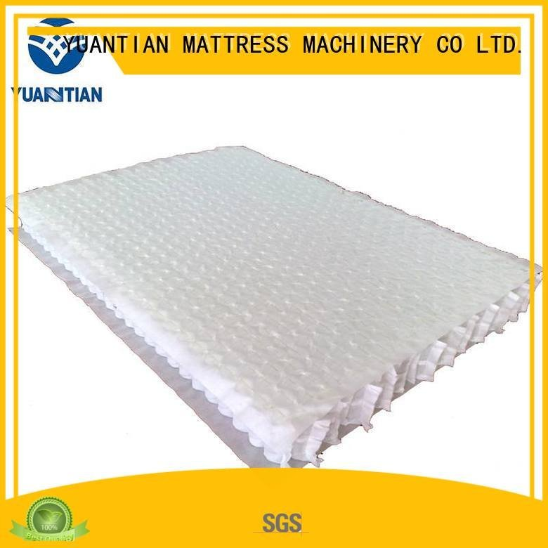 Wholesale top mattress spring unit YUANTIAN Mattress Machines Brand