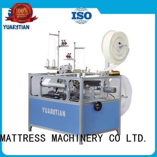YUANTIAN Mattress Machines ds8a heavyduty machine Double Sewing Heads Flanging Machine heads