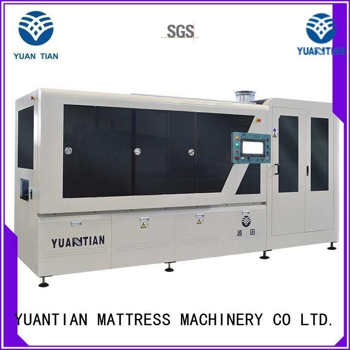 YUANTIAN Mattress Machines Brand dzg1b high Automatic High Speed Pocket Spring Machine speed assembling
