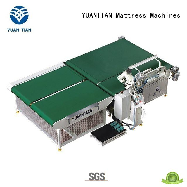 tape top YUANTIAN Mattress Machines mattress tape edge machine