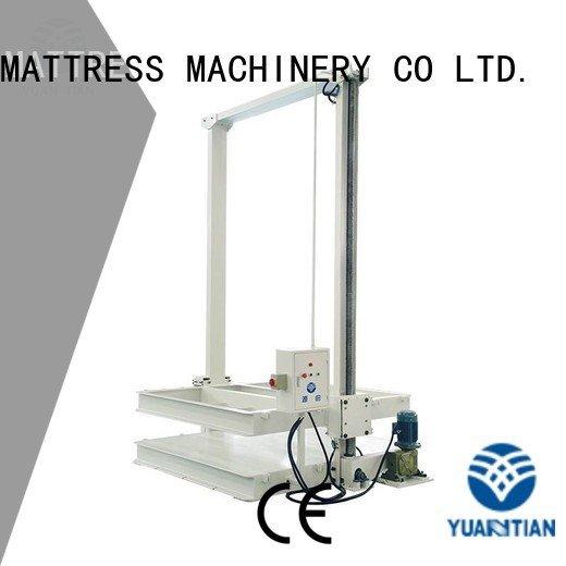 foam mattress making machine automatic wire straightening unpressing