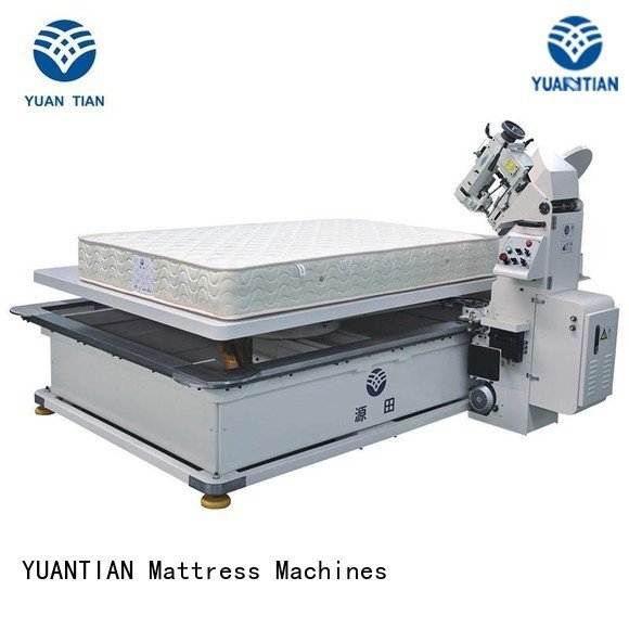 wpg2000 wb4a edge YUANTIAN Mattress Machines mattress tape edge machine