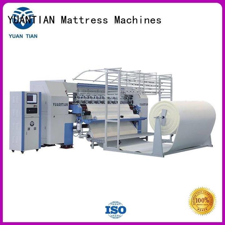 quilting machine for mattress price multineedle machine quilting machine for mattress YUANTIAN Mattress Machines Warranty