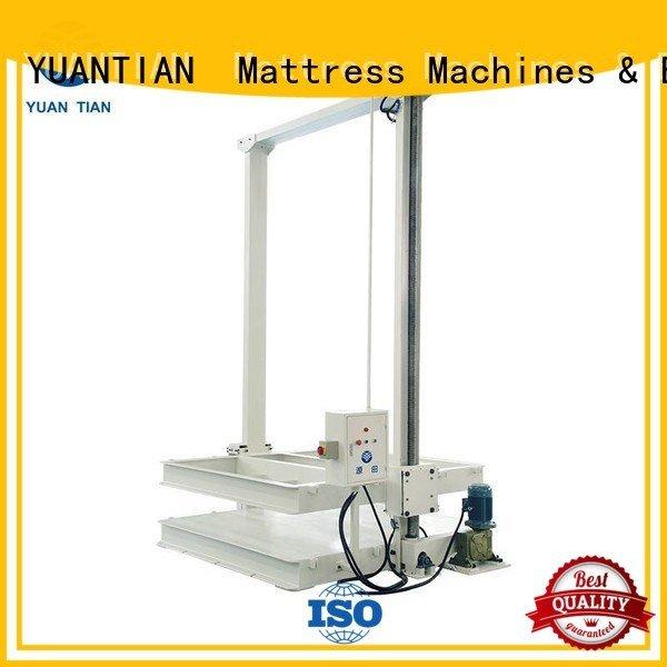 foam mattress making machine unpressing mattress packing machine YUANTIAN Mattress Machines Brand