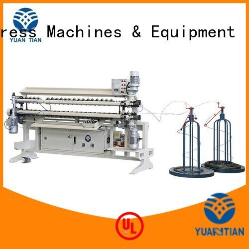 bonnell spring unit machine assembling spring machine semiauto YUANTIAN Mattress Machines