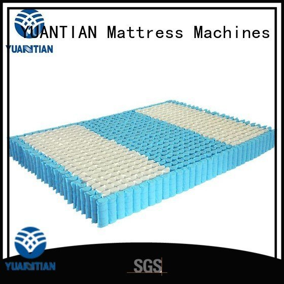 YUANTIAN Mattress Machines Brand nested mattress spring unit unit top