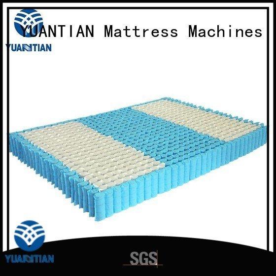 YUANTIAN Mattress Machines Brand nested mattress spring unit unit top