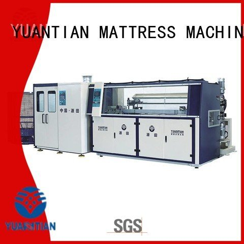 bonnell spring machine automatic line unit production YUANTIAN Mattress Machines