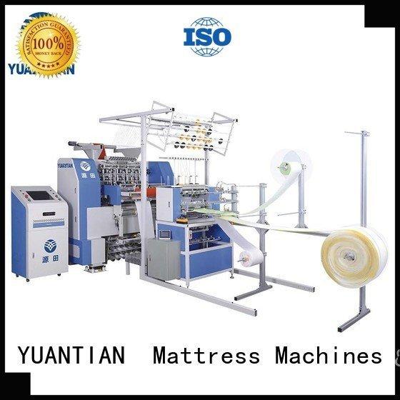 YUANTIAN Mattress Machines Brand dzhf2h border quilting machine for mattress price wbsh3 highspeed