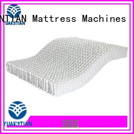 mattress spring unit pocket with mattress spring unit