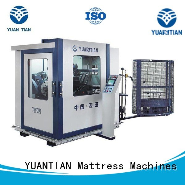 tx012 zj3 Automatic Bonnell Spring Coiling Machine spring YUANTIAN Mattress Machines