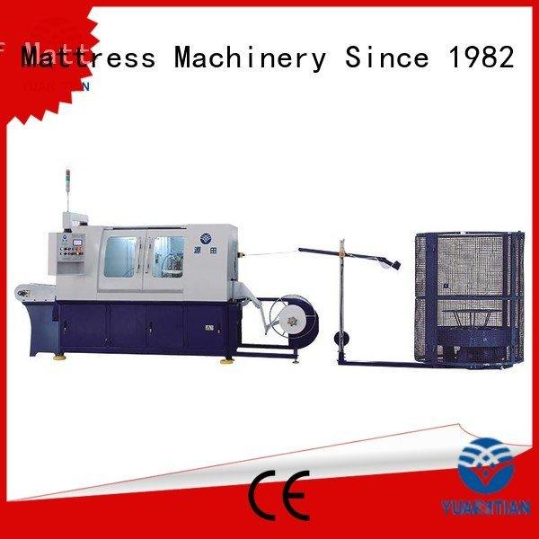 Automatic Pocket Spring Machine speed YUANTIAN Mattress Machines Brand Automatic High Speed Pocket Spring Machine