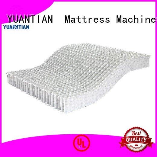 Hot mattress spring unit covers mattress spring unit zoned YUANTIAN Mattress Machines