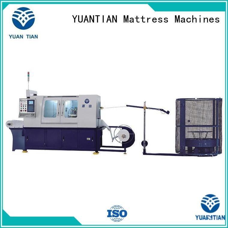 YUANTIAN Mattress Machines dzg1 Automatic High Speed Pocket Spring Machine high pocketspring