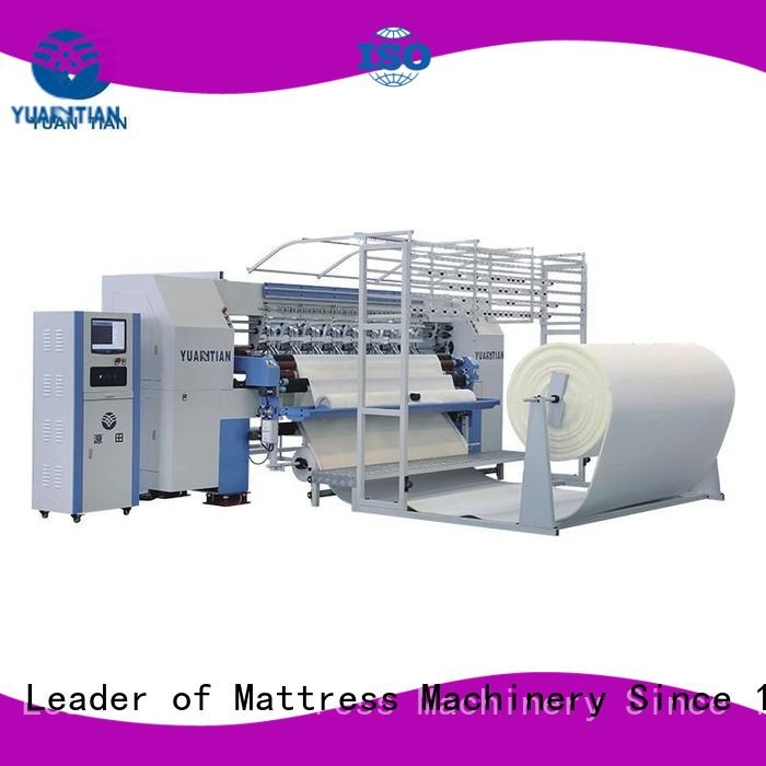 highspeed four quilting machine for mattress price YUANTIAN Mattress Machines