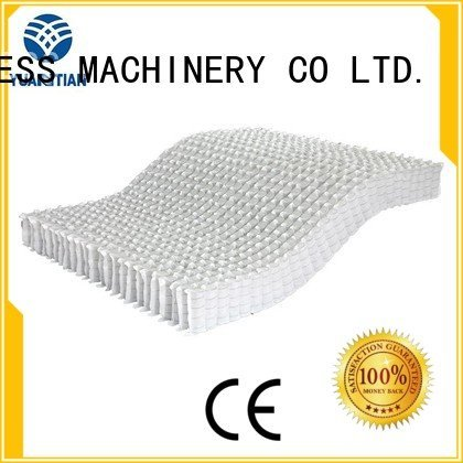 YUANTIAN Mattress Machines pocket mattress spring unit covers zoned