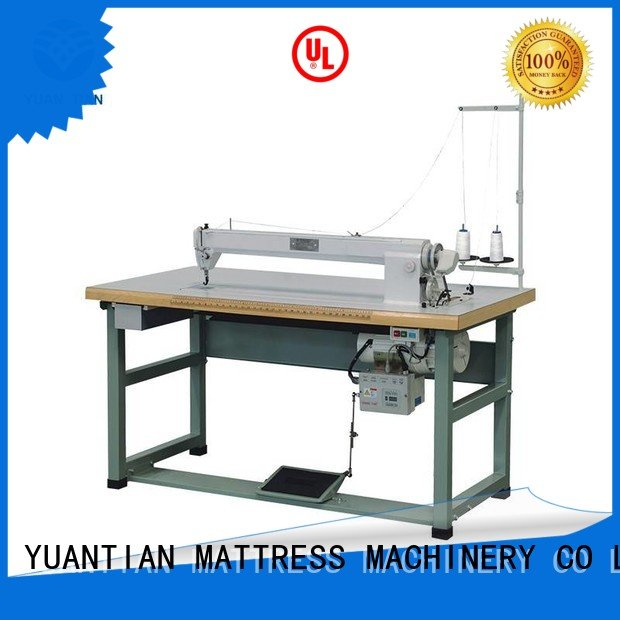 label longarm mattress YUANTIAN Mattress Machines Mattress Sewing Machine