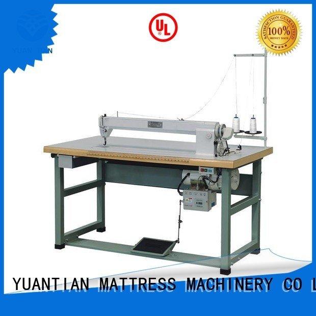 label longarm mattress YUANTIAN Mattress Machines Mattress Sewing Machine