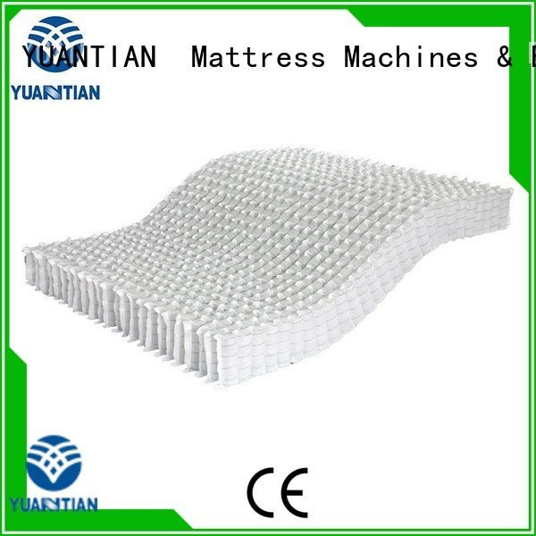 zoned spring mattress spring unit covers YUANTIAN Mattress Machines