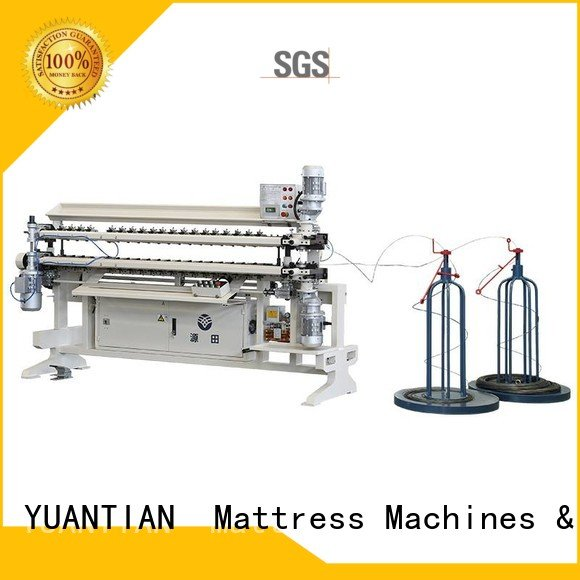 Custom Bonnell Spring Assembly  Machine machine assembling spring YUANTIAN Mattress Machines
