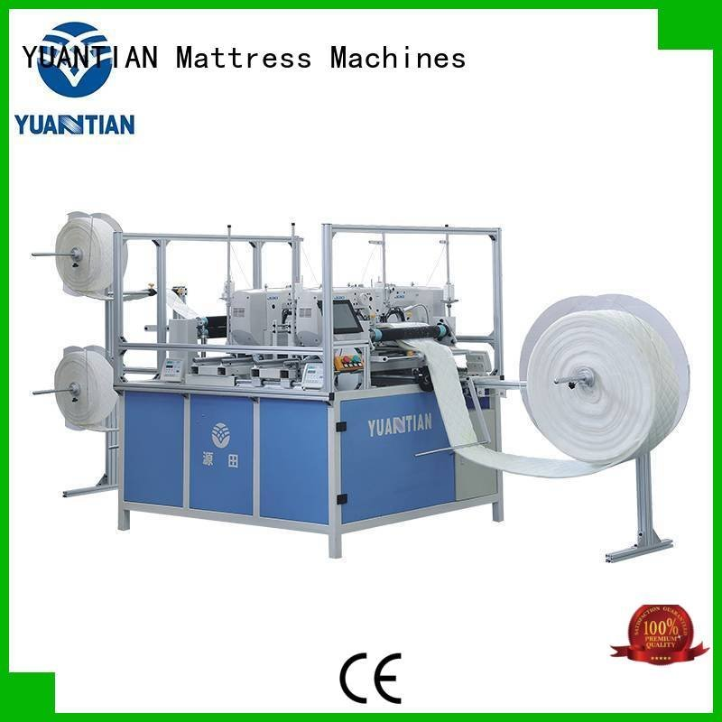 quilting machine for mattress price lockstitch singleneedle quilting machine for mattress YUANTIAN Mattress Machines Brand