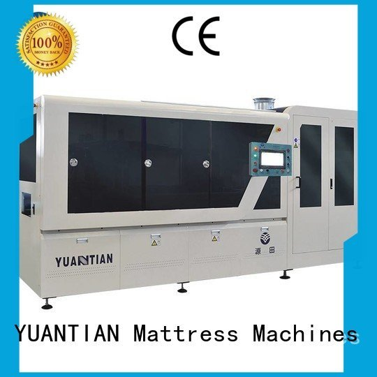 line automatic spring assembling YUANTIAN Mattress Machines Automatic High Speed Pocket Spring Machine