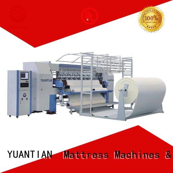 lockstitch stitching single YUANTIAN Mattress Machines quilting machine for mattress