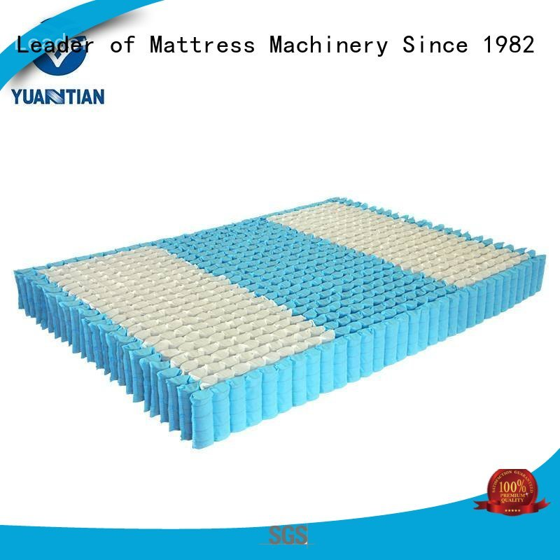 pocket nested Wholesale top mattress spring unit YUANTIAN Mattress Machines Brand